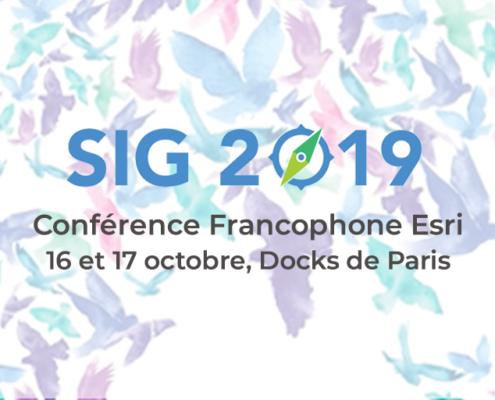 SIG 2019 Esri cartographie